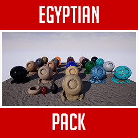High resolution Egyptian Themed tileable and seamless Materials