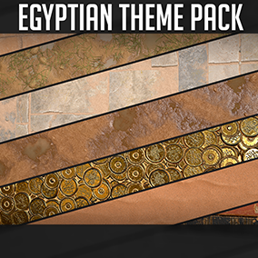 40+ Egyptian themed Materials