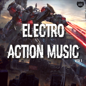Futuristic action loops and songs perfect for any modern or sci fi themed game.
