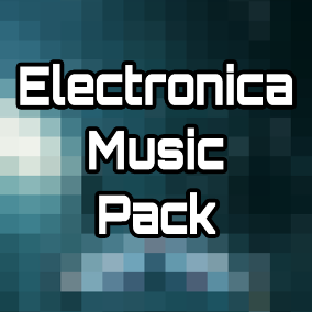 Electronica Music Pack includes seven seamless looping electronic tracks perfect for space shooter and racing games.
