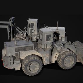 Loader and Forklift.