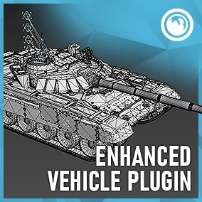 A FREE networked tracked and n-wheel code plugin for use with multiwheeled vehicles and tanks.