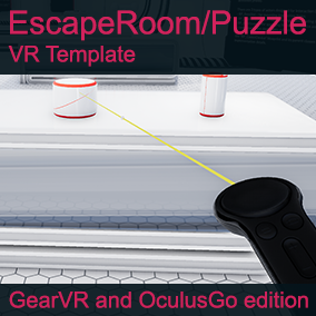 The easiest way to make your own GearVR or OculusGo Adventure/EscapeRoom game