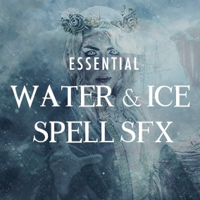 100 Essential Water & Ice Spell sound effects for your fantasy game.
