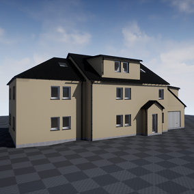 European House – Highly Modular Building Pack to create unlimited unique Houses!