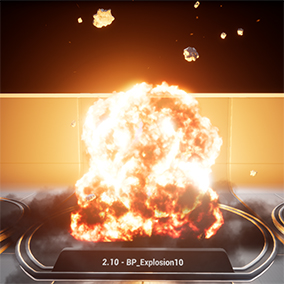 High Fidelity Explosions made with Blueprint controls!