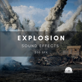 A combination of 200 explosion sound effects.
