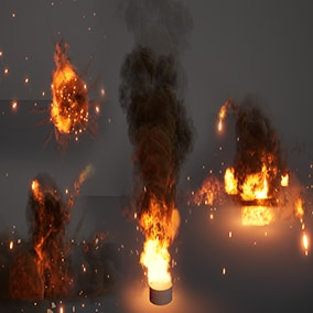 Explosion and smoke FX