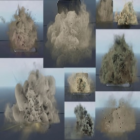 Niagara Explosions 05 Pack