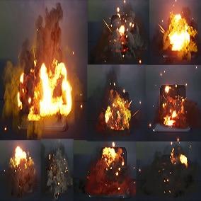 Explosions Niagara Pack 07
