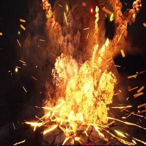 Explosions Niagara pack
