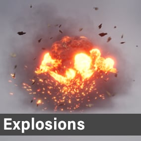20 High Quality Explosions