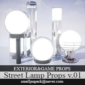 Exterior&Game Street Lamp v.01