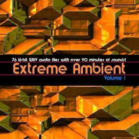 Extreme Ambient Volume one features 76 files in all - 1:34:44 worth of run time!