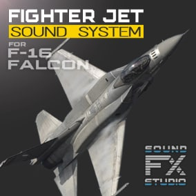 "The F-16 Fighting Falcon project contains all the necessary material to control the advanced flight model and reproducing the sounds of a single-engine supersonic multirole fighter aircraft. Revive your F-16 Fighting Falcon (""Viper"") Jet Fighter!"