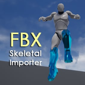 Import Skeletal Mesh assets in runtime
