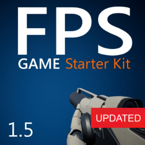 100% Blueprints, convenient to modify and expand, First-Person Shooter game starting template. Featuring FPS and TPS perspectives, inventory, weapon system and more.