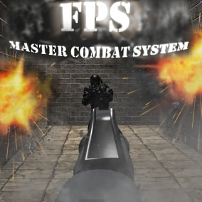 The FPS MCS is a first-person combat system. You will have a hero to control and an enemy to fight.