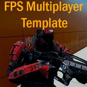Multiplayer FPS Template with full-featured menus to host a game with one click.