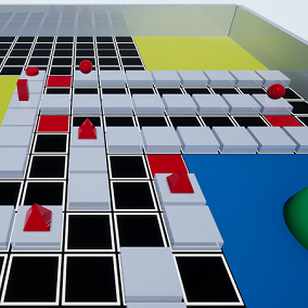 The FPS Tower Defense Toolkit is a pure blueprint framework that enables quick & easy creation of Tower Defense games with a First-person Shooter perspective.
