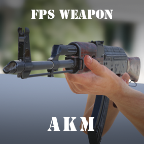AKM, ARMS model and First Person Animation