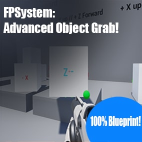 See that thing? Pick it up! Hold it like you mean it! Grab any physics object and hold it at the same angle you picked it up! Add a component and specify which way is up and forward!