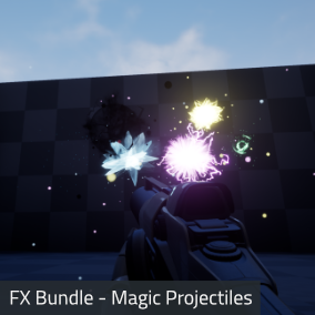 A collection of 18 magic projectile particle systems.