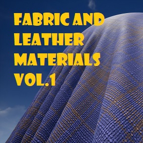 A pack of 6 Leather and 4 Fabric Material