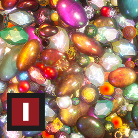 A collection of whimsical crystals/gems, perfect for collectibles and player rewards alike.