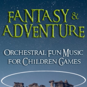 20 fun and engaging adventure and fantasy orchestral tracks in different styles of fun quirky music.