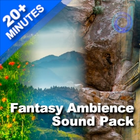 31 High-Quality & Game-Ready Ambience Loops for realistic Fantasy worlds: Cave, Village, Forest, Dungeon, Blacksmith, and much more.
