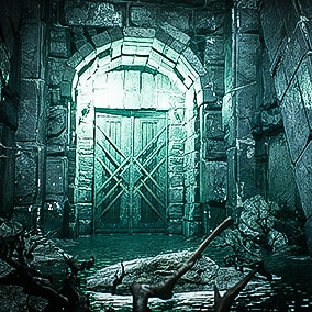 Realistic Fantasy Dungeon Environment Kitbash Set is set to create AAA quality game and VR/cinematic levels. It contains all needed tools such as architecture modules, props, realistic materials and material instances, statues and details.