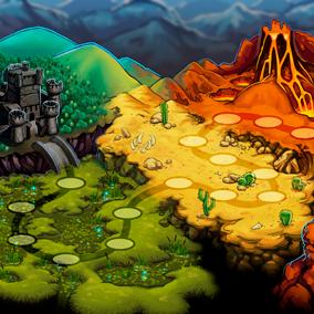 Fantasy Game Kit (Map + Icons)