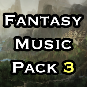 Fantasy themed seamless looping atmospheres and music tracks, fading music tracks and over 50 organic sound effects.