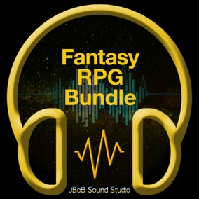 🎁 J.BOB Fantasy RPG Bundle comes with high-quality sounds, divided into 3 packs, exclusive sounds.