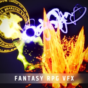 Big Package of Fantasy Magic Abilities, Skills, Buffs, Auras and much more for your game!