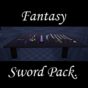 Hand made Fantasy Swords.