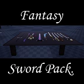Hand made Fantasy Swords.
