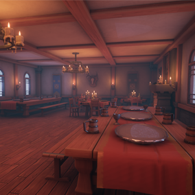 This asset pack includes a bunch of models that will help in creating fantasy inspired tavern.