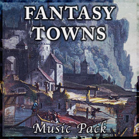 Memorable, Melodic, Character-rich town themes in 9 classic Fantasy settings!