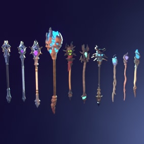 A set of quality staff models