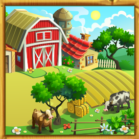 3 fun, upbeat and light-hearted music, and 5 music stingers! Perfect for all types of farming and related casual games!
