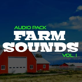 High Quality Farm Sounds for your game!