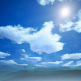 Well optimized dynamic sky material and advanced weather system. Exclelent choice for stylized games.