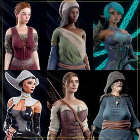 Game ready Female Pack