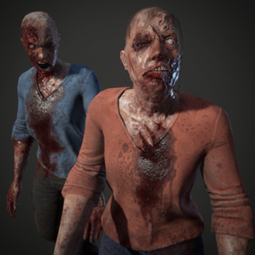 Two Female Zombies