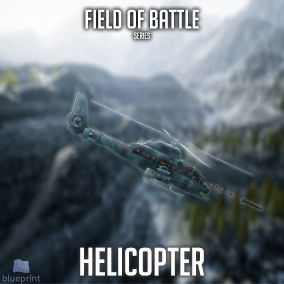 Blueprint to replicate helicopters from many popular AAA games, more than 100 knobs to config, multiplayer ready, support to 1st and 3rd person, top and side scroller