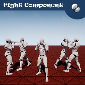 Simple and flexible fistfight system