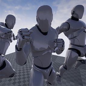 Here is the first installment of the Fighter Series. Enter the fight with 60 animations!