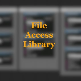Easy access of files & directories and delete or load them in runtime